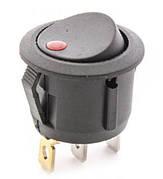 Выключатель с подсветкой RS PB-004 R/6711