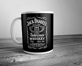 Чашка с принтом Jack Daniels