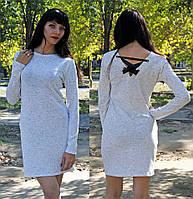 Нежное платье с лентами