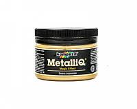 Декоративная эмаль акриловая METALLIQ (золото) 0,1 кг