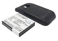Аккумуляторная батарея CameronSino для смартфона Samsung Galaxy Ace 2, 3100mAh / 11.78Wh, с крышкой черного цвета