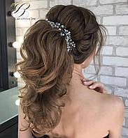Веточка в прическу Свадебное украшение Украшение в волосы 10-100 см ручная работа Цена за 10 см