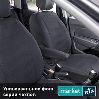 Чехлы на сиденья Audi A6 из Экокожи (Elegant), полный комплект (5 мест)
