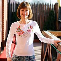 Женская вышиванка с длинным рукавом | Жіноча вишиванка з довгим рукавом