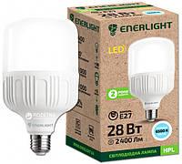 Лампа LED ENERLIGHT HPL 28Вт 6500K 2400lm. Е27 - Е40