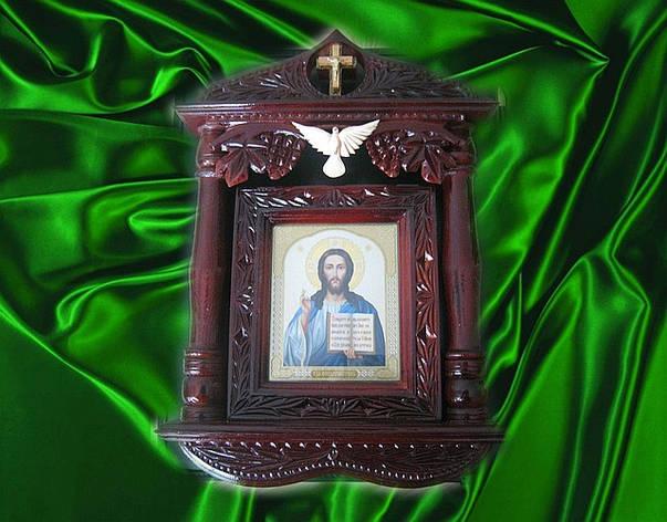"""Икона резная """" Иисус Христос"""", фото 2"""