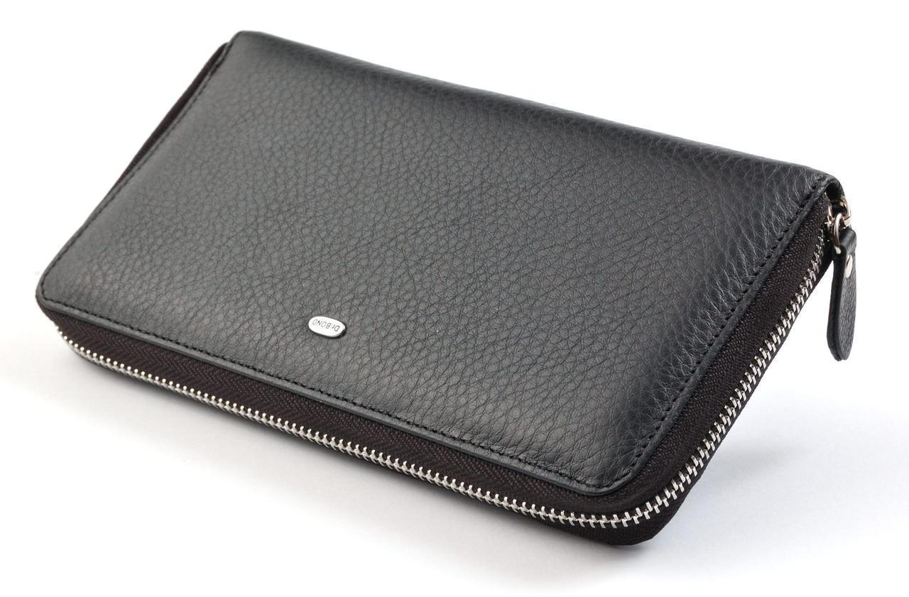 470d613dd9fe Мужской кожаный клатч кошелек портмоне на молнии dr.Bond натуральная кожа -  Интернет-магазин