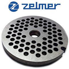"""Решетка (Сито) для мясорубки Zelmer 8"""" 4 мм"""