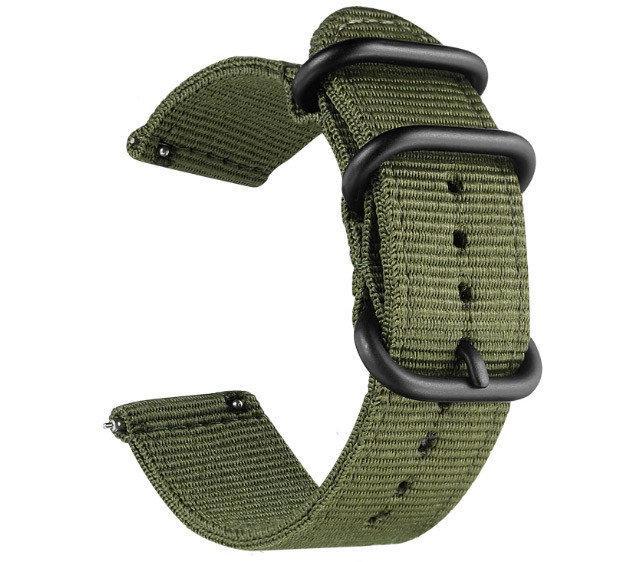 Нейлоновый ремешок Primo Traveller для часов Xiaomi Huami Amazfit SportWatch 2 / Amazfit Stratos - Army Green