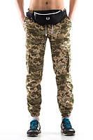 Камуфляжные штаны с карманами Ястреб Pixel