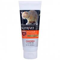Nutri-Vet Hairball Chicken НУТРИ-ВЕТ ВЫВЕДЕНИЕ ШЕРСТИ КУРИЦА добавка для кошек, гель, 89 мл