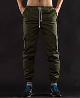 Молодежные штаны cargo (Летние) Olive (Олива)