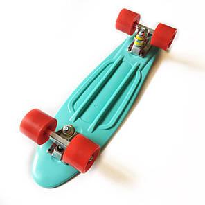 """Penny Board Light-Blue 22"""" - Голубой 54 см Пенни Борд, фото 2"""