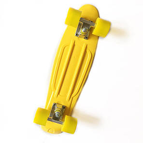 "Penny Board Yellow 22"" - Желтый 54 см пенни борд, фото 2"