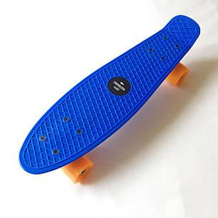 "Penny Board Blue 22"" - Синий 54 см пенни борд, фото 2"