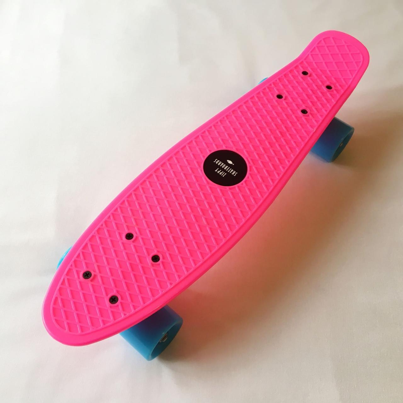 "Penny Board Pink 22"" - Розовый 54 см пенни борд скейт"