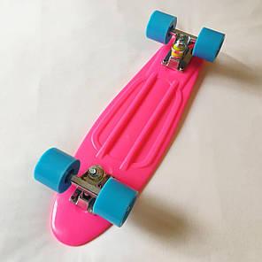"Penny Board Pink 22"" - Розовый 54 см пенни борд скейт, фото 2"