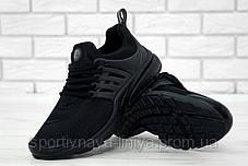 Кроссовки мужские черные Nike Air Presto (реплика), фото 3