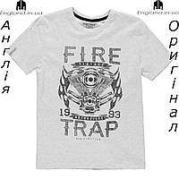Футболка Firetrap из Англии для мальчиков 2-14 лет 09e8b5c971d33