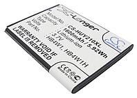 Аккумуляторная батарея CameronSino для смартфона HUAWEI Ascend G510, 1600mAh/5.92Wh, X-Longer