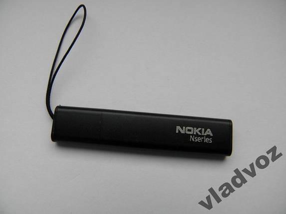 Стилус nokia N 5230 5800 5228 унив/чёрный/металл, фото 2