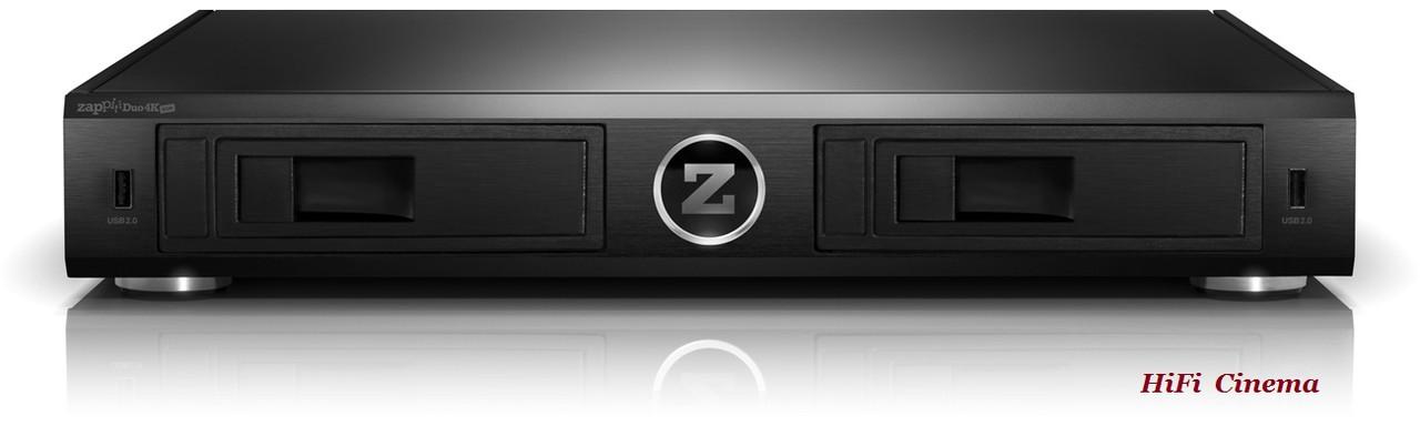 """Zappiti Duo 4K HDR топовый сетевой медиа проигрыватель с жёсткими дисками 2 HDD 3.5"""" SATA, фото 1"""