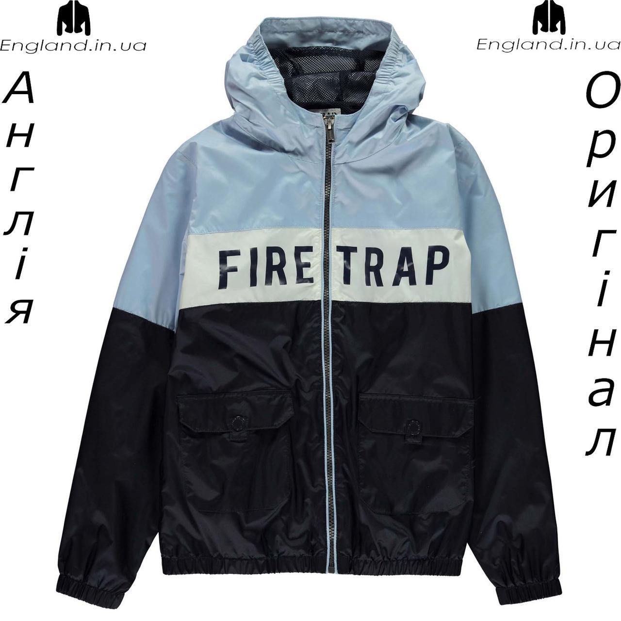 Куртка дождевик Firetrap из Англии для мальчиков 2-14 лет