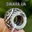 Серебряный шарм бусина Пандора Pandora, фото 5