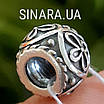 Серебряный шарм бусина Пандора Pandora, фото 4