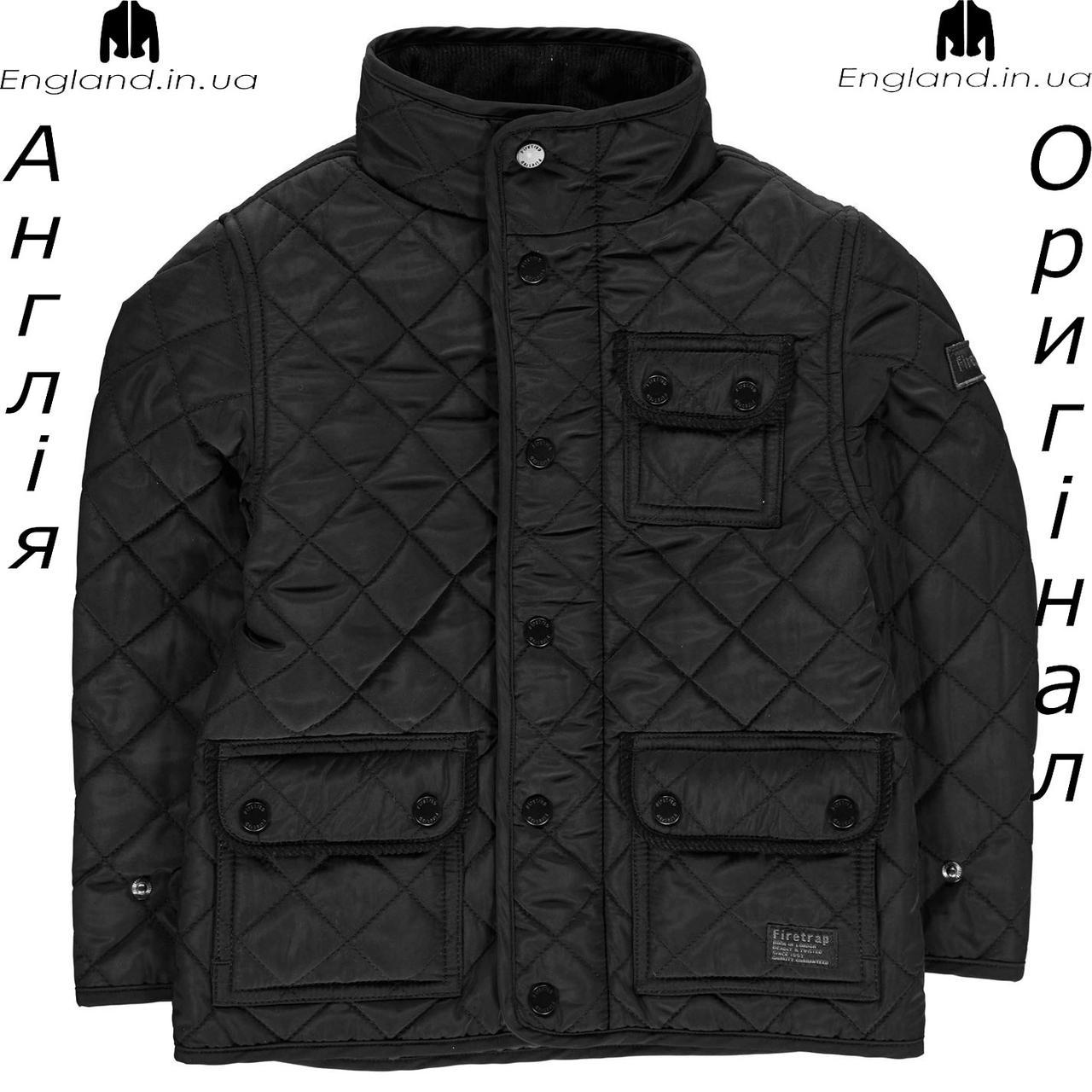 Куртка Firetrap из Англии для мальчиков 2-14 лет - стеганая
