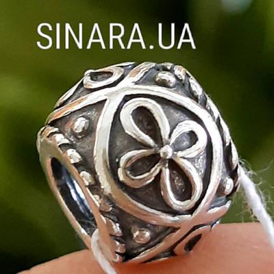 Срібний шарм намистина Пандора Pandora