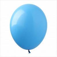 """Шар 5"""" (12,5 см), голубые, пастель, 100 шт"""