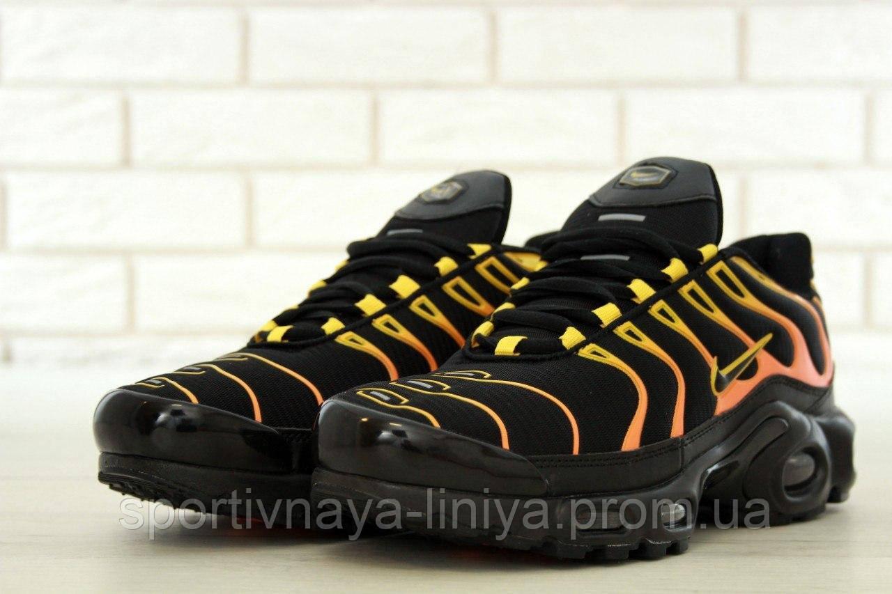 Кроссовки мужские черные Nike Air Max TN+ (реплика)