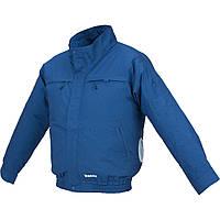 Аккумуляторная куртка с вентиляцией (хлопок) Makita DFJ 304 ZXL