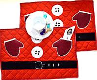 Салфетки текстиль Новый Год ( набор 2 шт ), фото 1