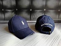 Новые Мужские Брендовые Кепки VIP-Качества 100% Cotton Кепка Ralph Polo Lauren Джинсовая Синяя Кепка