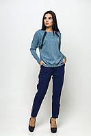 Красивый свитшот Грейс голубой, фото 1