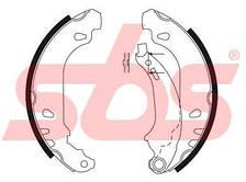 Колодки тормозные задние (180х42) SBS для Logan седан