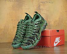 Кроссовки мужские зеленые Nike Air Max TN+ (реплика), фото 3