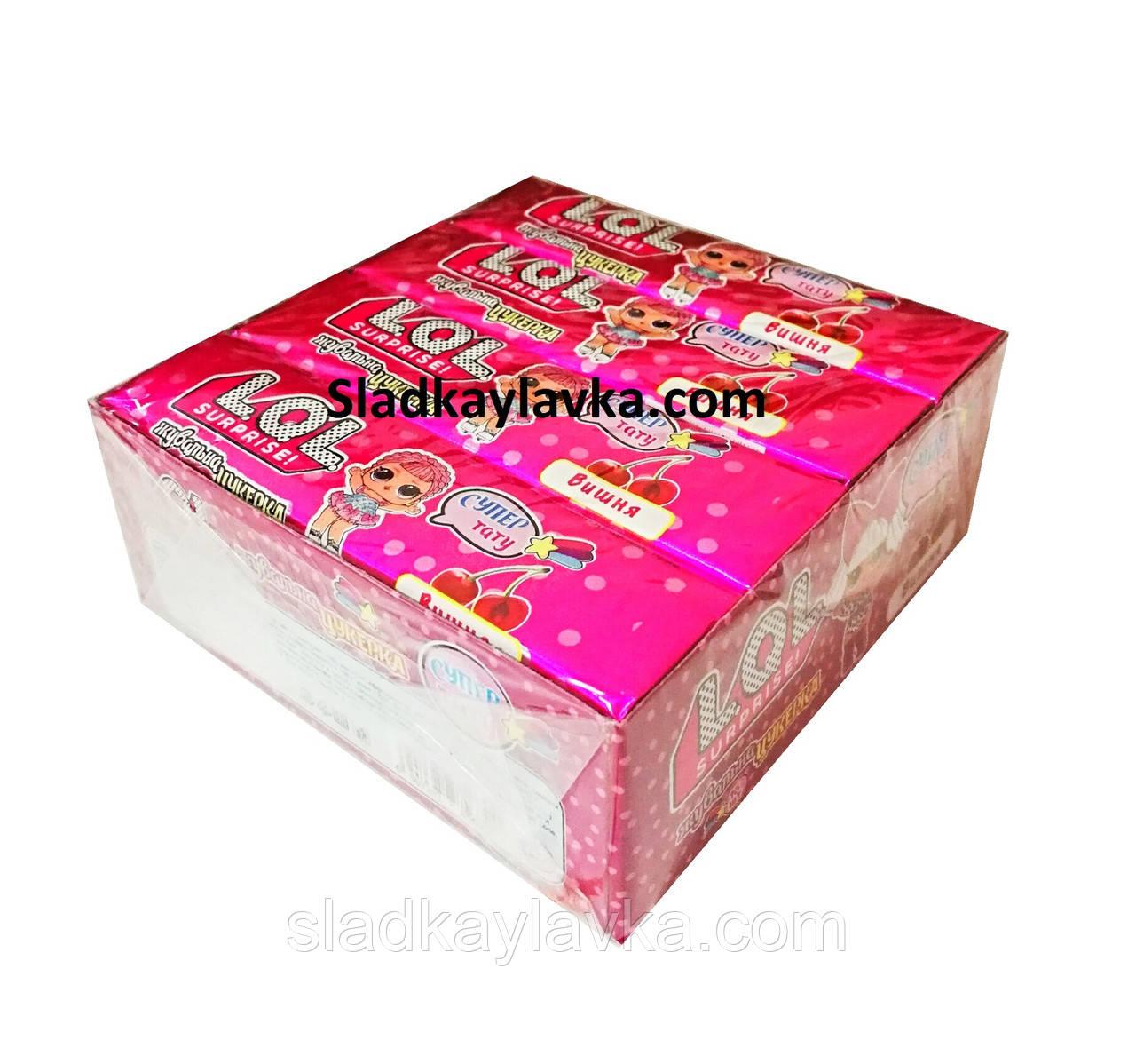 Жевательная конфета LoL Surprise 16 шт (Fujiang Food)