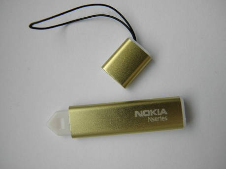 Стилус N nokia 5230 5800 5228 унив/толстый/золот, фото 2
