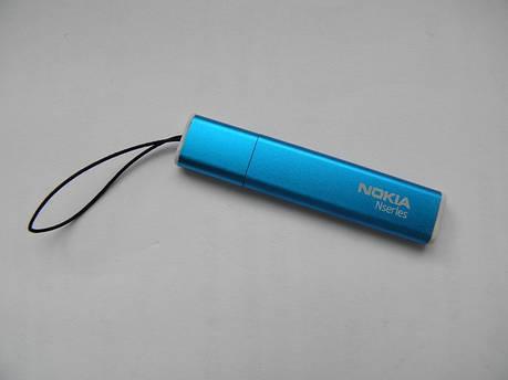 Стилус nokia N 5230 5800 5228 унив/голубой/металл, фото 2