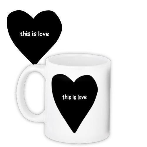Кружка с принтом Happy This is love (KR_18J055)