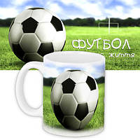 Кружка с принтом Для мужчин Футбол (KR_MANU013)