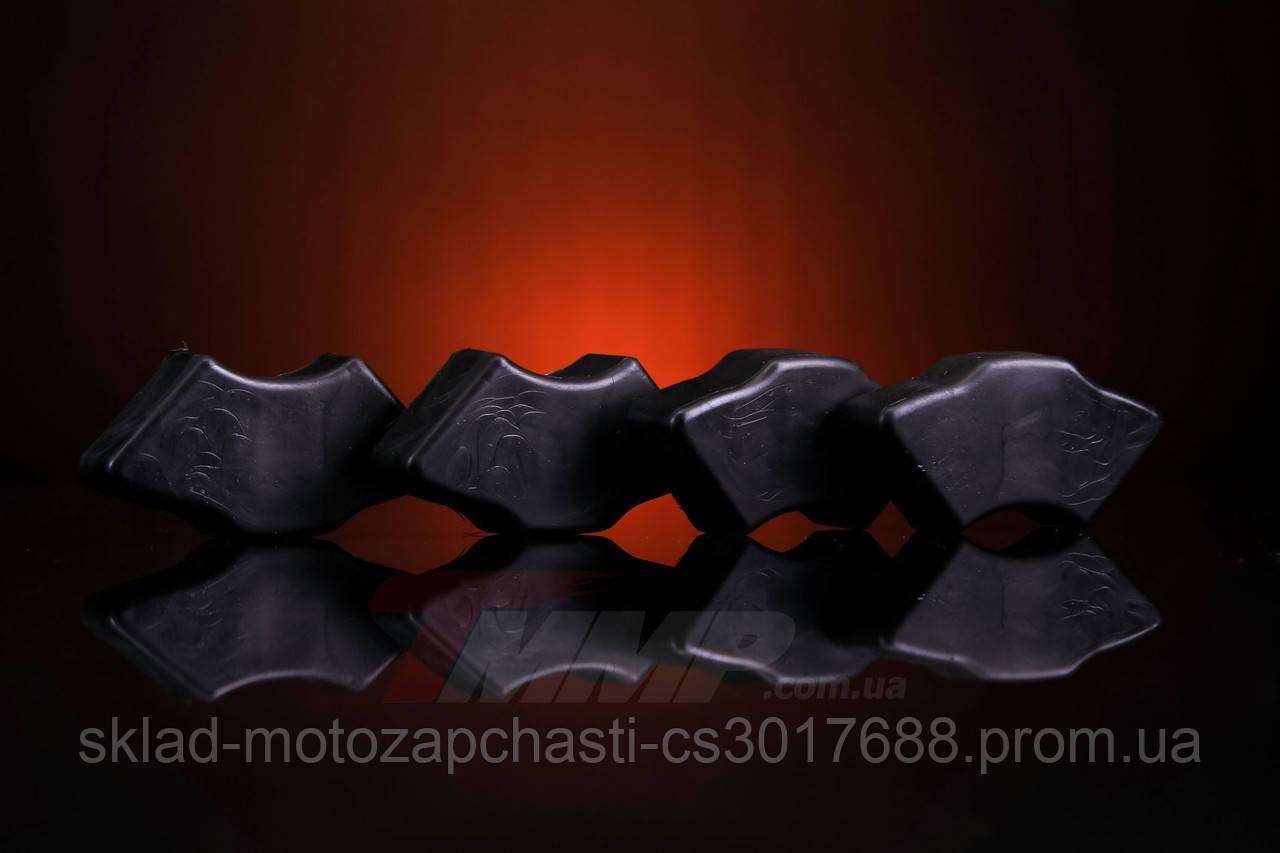Демферные резинки Дельта чёрные ТММР