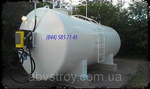 Контейнерная мини АЗС для хранения ГСМ двустенный 50000 литров