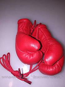 Кожаные боксерские сувенирные перчатки