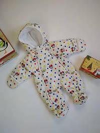 Демисезонные комбинезоны для новорожденных и детей до 1 года