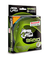 Шнур Lineaeffe Hiper Catch Spectra Braid 135м/150yds  0,126мм  FishTest-13,00кг Light Grey