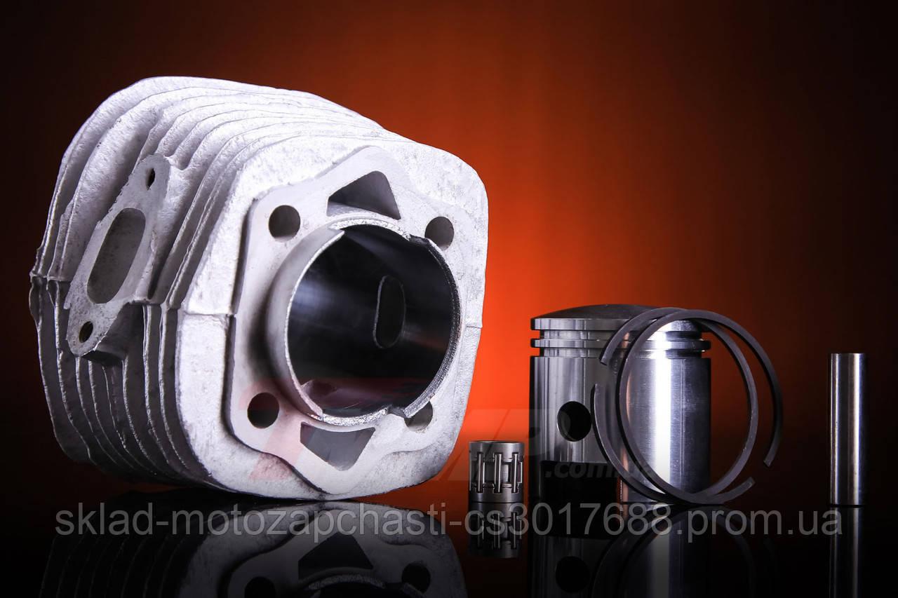 Циліндр / поршнева дирчик в зборі повному d=47mm 80см3/80 сс Веломотор ( China ) кераміка